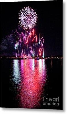 Fireworks 1 Metal Print by Butch Lombardi