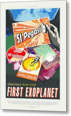 First Exoplanet Metal Print