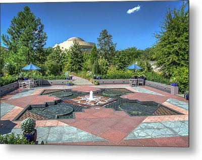 First Ladies Water Garden Metal Print by Ross Henton