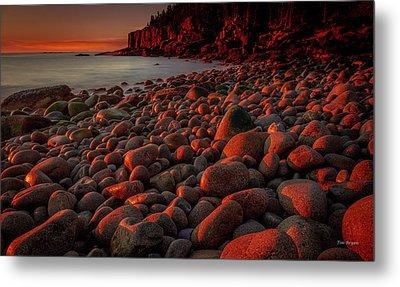 First Light On A Maine Coast Metal Print by Tim Bryan