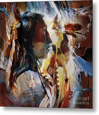 First Nation 67yu Metal Print by Gull G
