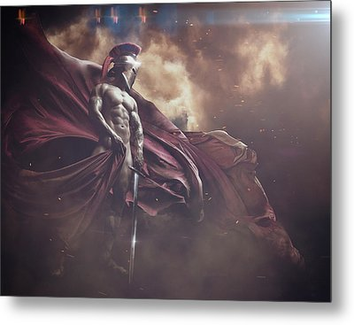 First Warrior Metal Print