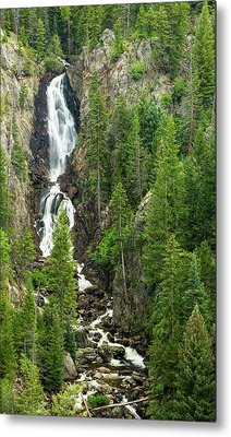 Fish Creek Falls Metal Print by Adam Pender