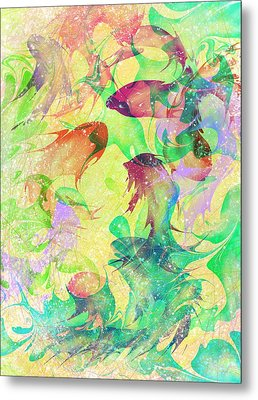 Fish Dreams Metal Print by Rachel Christine Nowicki