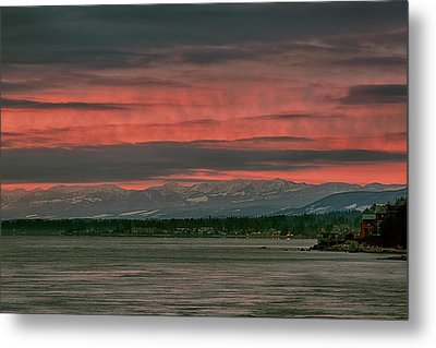 Metal Print featuring the photograph Fishermans Wharf Sunrise by Randy Hall