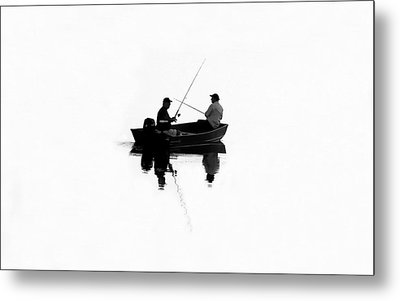 Fishing Buddies Metal Print by David Lee Thompson