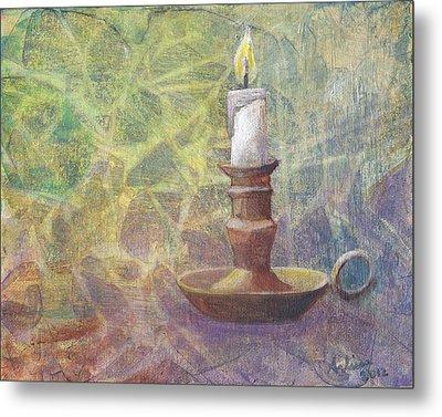 Flame Of Hope Metal Print by Arlissa Vaughn
