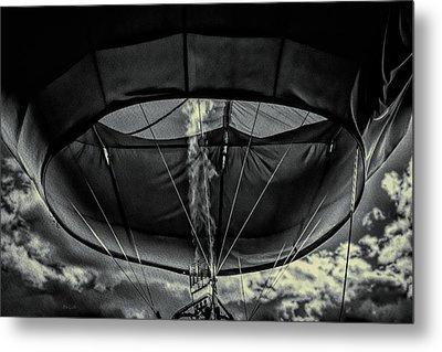 Flame On Hot Air Balloon Metal Print