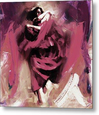 Flamenco 0321w Metal Print by Gull G