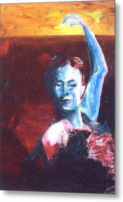 Flamenco Seco Metal Print by LB Zaftig