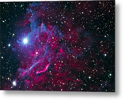 Flaming Star Nebula Metal Print by Jim DeLillo