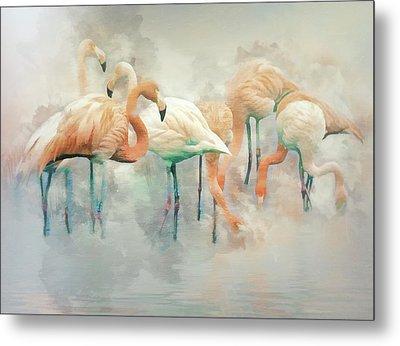 Flamingo Fantasy Metal Print by Brian Tarr