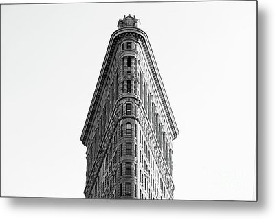 Flat Iron Building Metal Print by MGL Meiklejohn Graphics Licensing