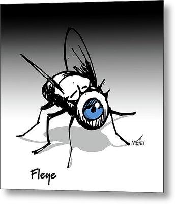 Fleye Metal Print