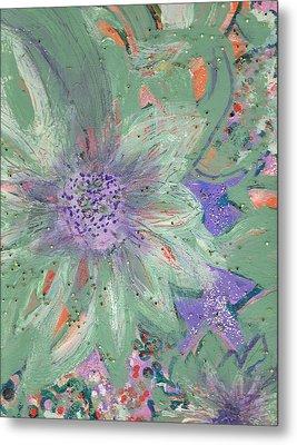 Flores De Amor Metal Print by Anne-Elizabeth Whiteway