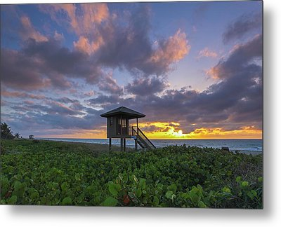 Metal Print featuring the photograph Florida by Juergen Roth