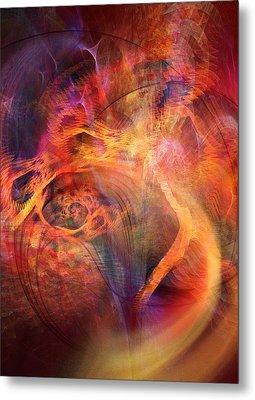 Flow 2 Metal Print