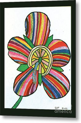 Flower Metal Print by Jeffrey Peterson