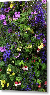 Flower Power Metal Print by Kurt Van Wagner