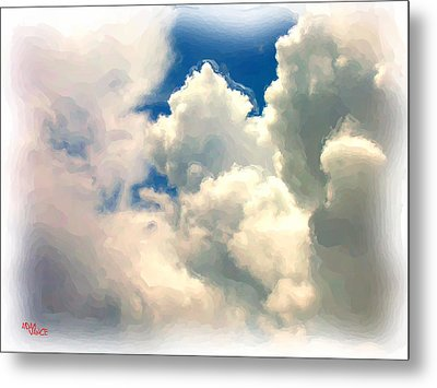 Flyin High Metal Print