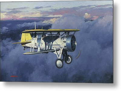 Flying Chief Metal Print by Wade Meyers