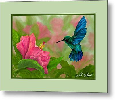 Flying Colors Metal Print by Leslie Rhoades