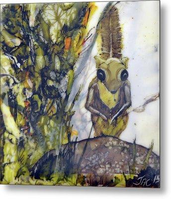 Flying Squirrel Metal Print