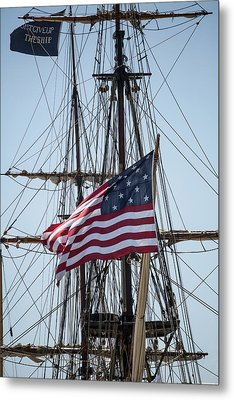 Metal Print featuring the photograph Flying The Flags by Dale Kincaid