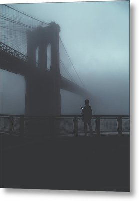 Fog Life  Metal Print by Anthony Fields