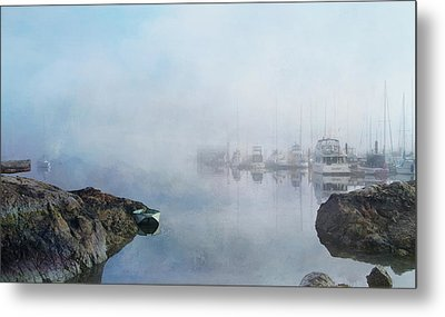 And Fog Drifts In Metal Print