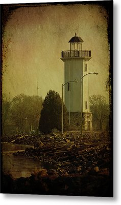 Fond Du Lac Lighthouse Metal Print by Joel Witmeyer