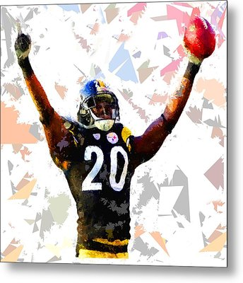 Metal Print featuring the painting Football 113 by Movie Poster Prints