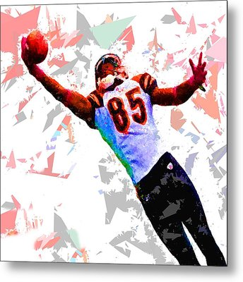 Metal Print featuring the painting Football 114 by Movie Poster Prints