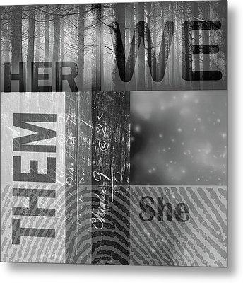 For Her Metal Print by Nancy Merkle