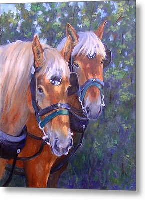 For Hire Metal Print by Debra Mickelson