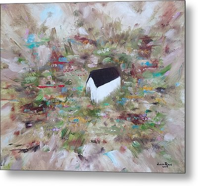 Metal Print featuring the painting For Sheila by Judith Rhue