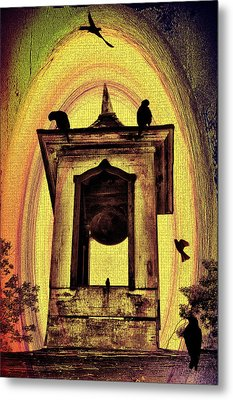 For Whom The Bell Tolls Metal Print by Bill Cannon