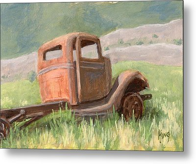 Ford On The Range Metal Print by David King