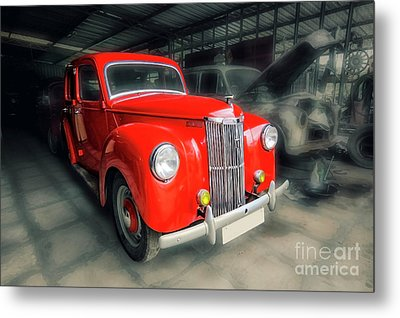 Metal Print featuring the photograph Ford Prefect by Charuhas Images