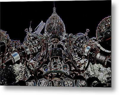 Forevertron Metal Print by Tya Kottler