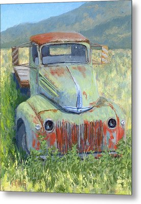 Forlorn Ford Metal Print by David King