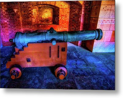 Fort Cannon Metal Print by Garry Gay