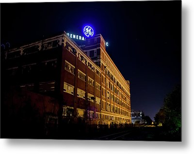 Fort Wayne In Ge Building - Jpmmedia.com Metal Print