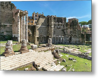 Metal Print featuring the photograph Forum Of Augustus by Scott Carruthers
