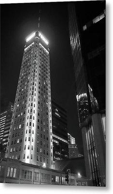 Foshay Tower, Minneapolis Metal Print by Jim Hughes