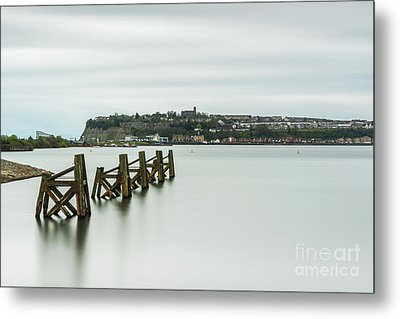 Four Minutes At Cardiff Bay Metal Print