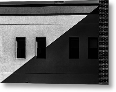 Metal Print featuring the photograph Four Windows by Bob Orsillo