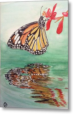 Fragile Reflection Metal Print by Annie Poitras
