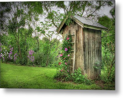Fragrant Outhouse Metal Print