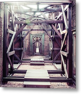 Framework Metal Print